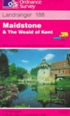 Landranger Maps: Maidstone and the Weald... by Ordnance Survey Sheet map, folded