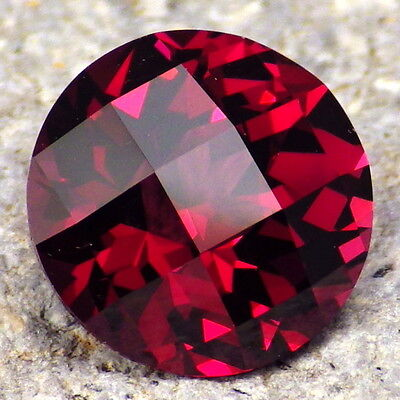 PYRALSPITE GARNET-E.AFRICA 6.08Ct FLAWLESS-MAGENTA COLOR-TOP INVESTMENT GRADE!!