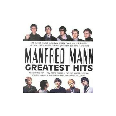 Manfred Mann - Greatest Hits - Manfred Mann CD VPVG The Cheap Fast Free Post The