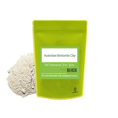 Organic Australia Bentonite Clay Powder-Food Grade Detoxifying Face Facial Mask