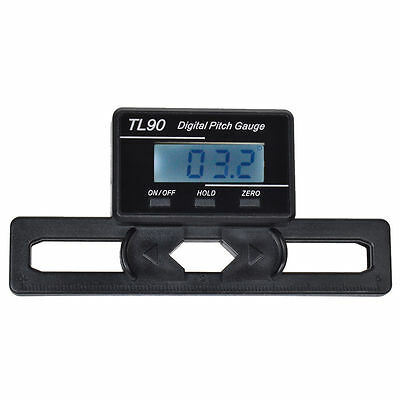 LCD display Digital Pitch Gauge Blades degree angle for  align 450 700 RC heli I