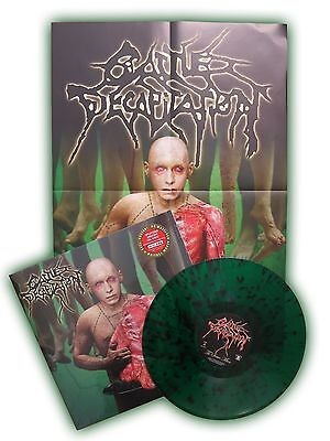 CATTLE DECAPITATION To Serve Man Vinyl SPLATTERED LP [Limited: 200] + Poster