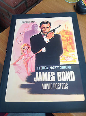 James Bond 007 Movie Poster Postcard Book - Dr No to Die Another Day