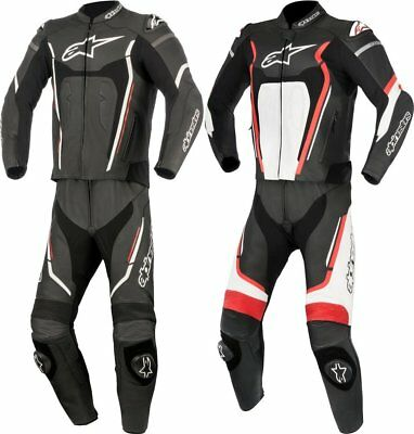 Alpinestars Mens Motegi v2 2 Piece Armored Leather Performance Riding Suit