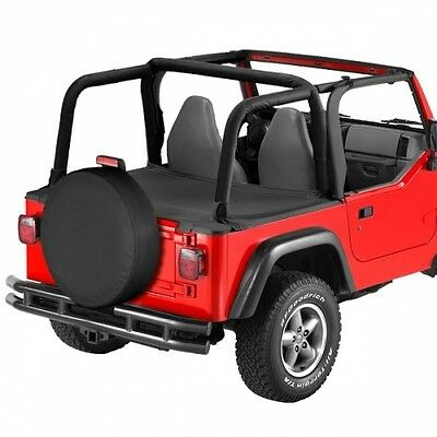 Jeep Wrangler TJ Duster Abdeckung Laderaum Black Diamond Bestop 03-06
