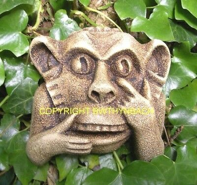 New Rubber Latex Mould Moulds Mold Make A Gargoyle Hand Monkey Wall  Plaque 9