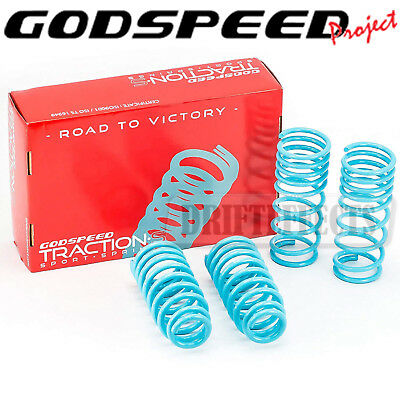 For Honda Accord 08-12 All Models Cp2 Godspeed Traction-S Lowering Coil Springs