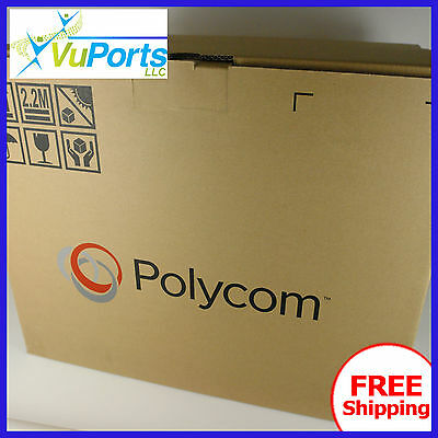 NEW Polycom RealPresence Group 300 720 Codec Brand New in Box STEAL IT HERE!