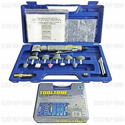 """1/4"""" 15 Piece Air Angle Die Grinding Kit Kits Compressor Tool Tools Set Sets New"""