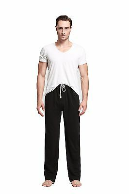 "Men""s Jersey Cotton Knit Pajama Lounge Sleep Pants/CYZ /# A"