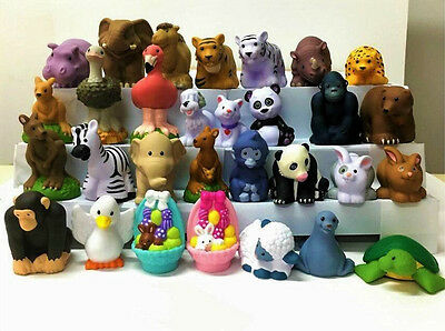 Promotion 20pcs/set Fisher-Price Little People Zoo Talkers Animal Toy - no sound