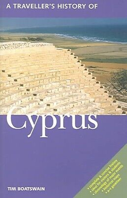 A Traveller's History of Cyprus by Timothy Boatswain Paperback Book (English)
