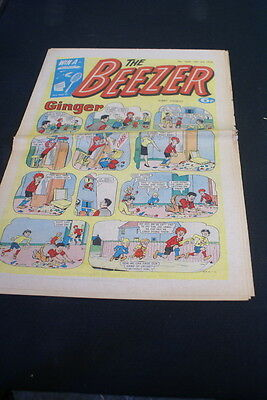 The BEEZER Paper comic  No 1069. July 10th 1976
