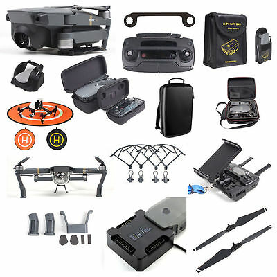 For DJI Mavic Pro New Parts & Accessories Rapid Battery Charger Backpack Bundle