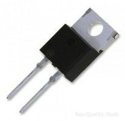 5 X DIODE, ULTRAFAST, 15A, 600V Part # ON SEMICONDUCTOR MUR1560G