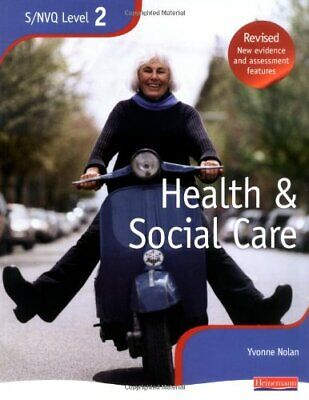 NVQ/SVQ Level 2 Health and Social Care Candidate Ha... by Yvonne Nolan Paperback