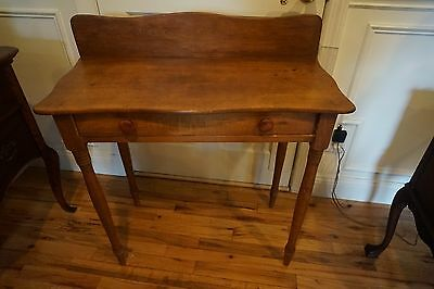 Antique Pine Table  Accent Table