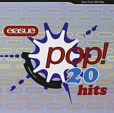 Erasure - Pop: First 20 Hits - Erasure CD HLVG The Cheap Fast Free Post The