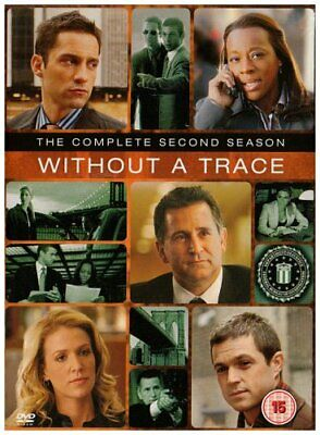 Without A Trace - Complete Season 2 [DVD] [2003] [2005] - DVD  Z4VG The Cheap