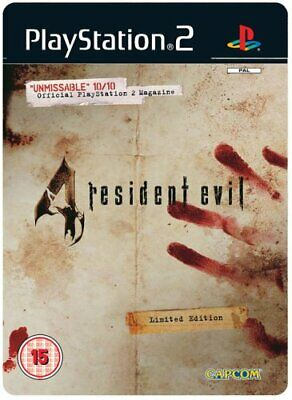 Resident Evil 4: Limited Edition (PS2) - Game  IAVG The Cheap Fast Free Post