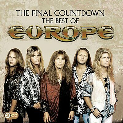 The Final Countdown: The Best Of Europe -  CD 5YVG The Cheap Fast Free Post The