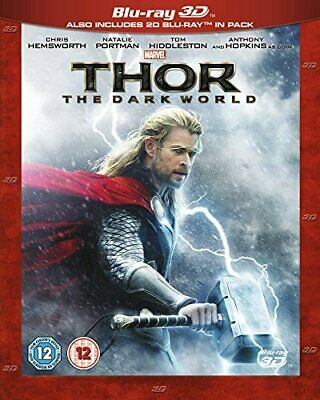 Thor: The Dark World [Blu-ray 3D] [2013] [Region Free] - DVD  3GVG The Cheap