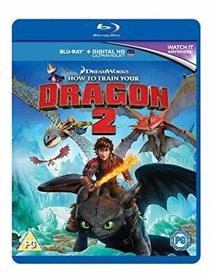 How to Train Your Dragon 2 [Blu-ray + UV Copy] - DVD  62VG The Cheap Fast Free