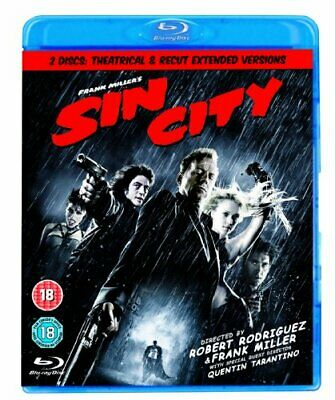 Sin City - 2-Disc Edition [Blu-ray] - DVD  BMVG The Cheap Fast Free Post