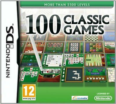 100 Classic Games (Nintendo DS) - Game  8CVG The Cheap Fast Free Post