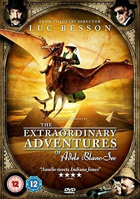 The Extraordinary Adventures of Adele Blanc-Sec [DVD] - DVD  66VG The Cheap Fast