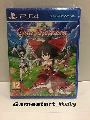 Touhou Genso Wanderer + Double Focus Sony Ps4 Nuovo Sigillato New Pal Uk Version