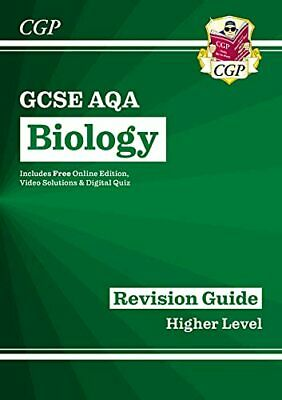 Grade 9-1 GCSE Biology: AQA Revision Guide with Online Edition -... by CGP Books