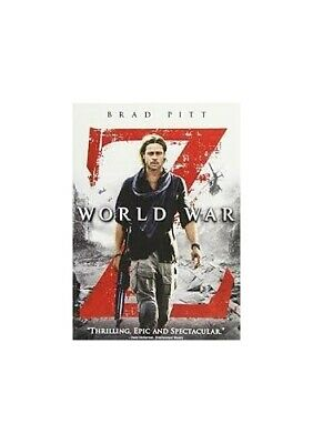 World War Z - Extended Action Cut - DVD  S6VG The Cheap Fast Free Post