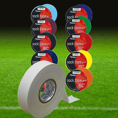 102014 PRECISION TRAINING Football Sock Tape (Length 33 metres Width 2cm)