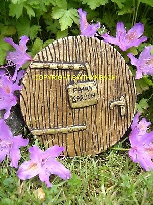 New Rubber Latex Moulds Mold Mould To Make Garden Fairy Fairie Door Sign  E