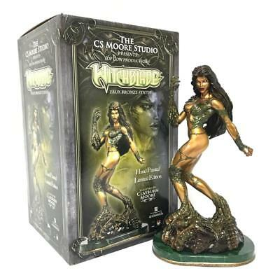 Witchblade Faux Bronze Cs Moore Studio Limited Edition Rare Statue