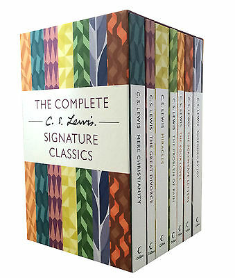 The Complete 7 Books  C. S. Lewis Signature Classics  Boxed Set Collection