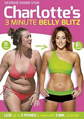 Charlotte Crosby's 3 Minute Belly Blitz [DVD] [2014] - DVD  8UVG The Cheap Fast