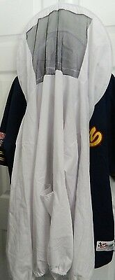 Beekeeping Smock Shirt With Veil Screened Face Xl  Extra Large