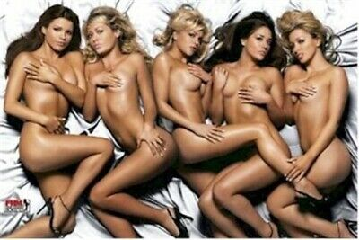 FHM ~ HIGH STREET HONEYS 24x36 PINUP POSTER NEW/ROLLED!