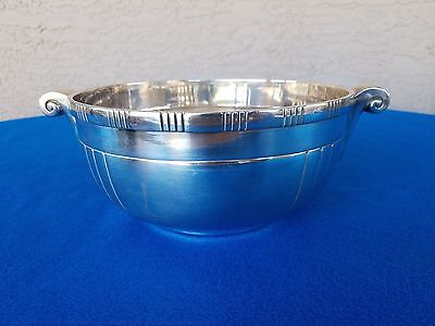 Vintage Silver Plated Fruit Snack Bowl Hallmarked Heavy L@@k Here!!