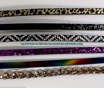 """6 << GIRLS TEEN Perforated Multi Colors, Finishes & Styles BELT SET > M - L 32"""""""