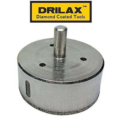 Diamond Drill Bit Hole Saw for Kitchen Bathroom Porcelain Tiles by DRILAX