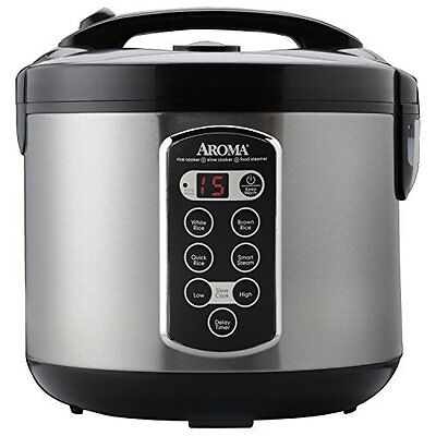 Professional 20-Cup (Cooked) Digital Rice Cooker ARC-2000ASB (Bestseller)