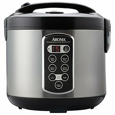 Professional 20-Cup (Cooked) Digital Rice Cooker ARC-2000ASB by Aroma Housewares