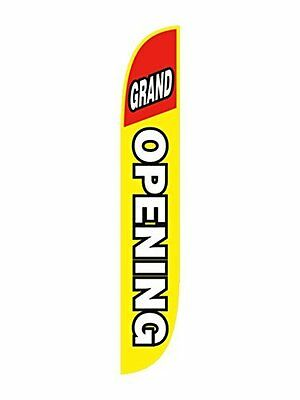 Grand Opening Feather Flag - Will Get Your Business Sale Noticed Immediately