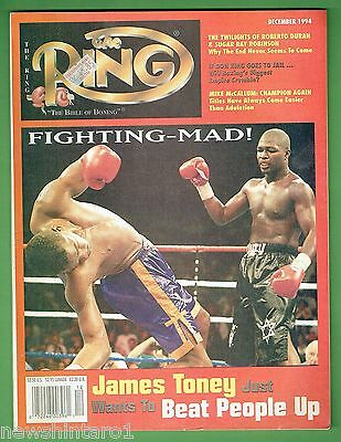 #bb.  The Ring Boxing Magazine, December 1994