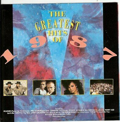 V/A - The Greatest Hits of 1987 Telstar - V/A CD 8YVG The Cheap Fast Free Post