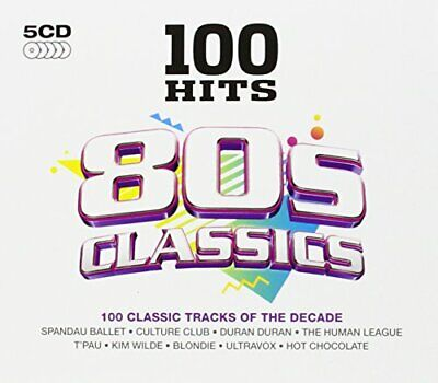 Various Artists - 100 Hits 80s Classics - Various Artists CD CSVG The Cheap Fast