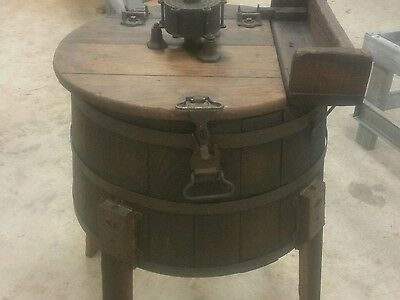 Antique wooden washing machine circa 1908 Vintage Wringer Style Eagle •COOL•